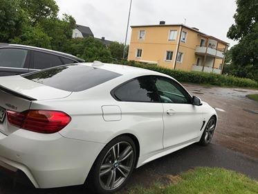 BMW 3-serie coupé med EVOFILM