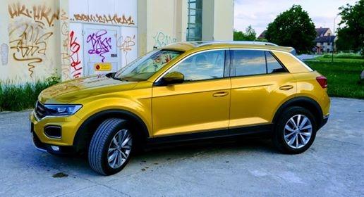 VW T-roc med EVOFILM