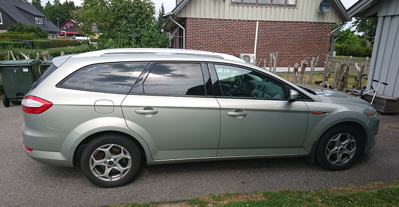 Ford Mondeo med EVOFILM
