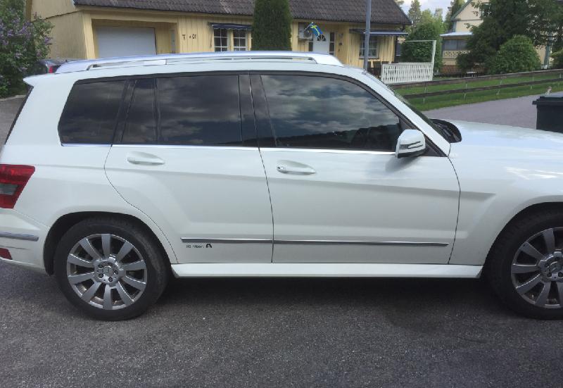 Mercedes GLK med EVOFILM