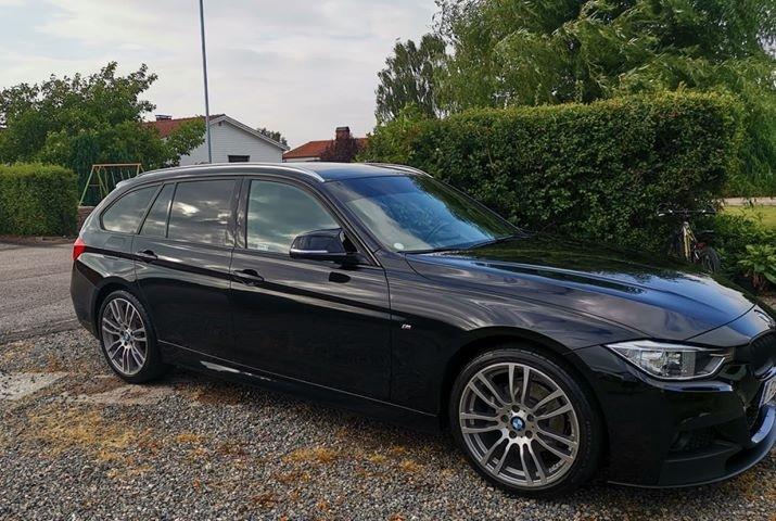 BMW 3-serie med EVOFILM
