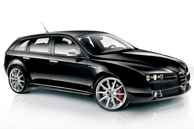 Solfilm til Alfa Romeo 159 Sportswagon. Færdigskåret solfilm til alle Alfa Romeo biler.