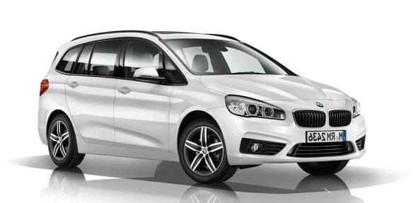 Solfilm til BMW 2-serie Gran Tourer. Færdigskåret solfilm til alle BMW biler.