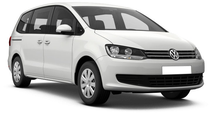 Solfilm til Volkswagen Sharan. Færdigskåret solfilm til alle Volkswagen biler.