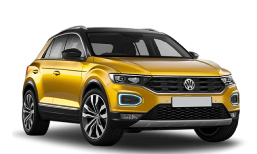 Solfilm til Volkswagen T-roc. Færdigskåret solfilm til alle Volkswagen biler.