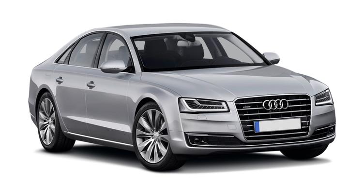 Solfilm til Audi A8 Limo. Færdigskåret solfilm til alle Audi biler.