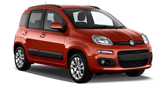 Solfilm til Fiat Panda. Færdigskåret solfilm til alle Fiat biler.