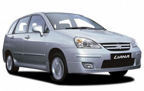 Solfilm til Suzuki Liana. Færdigskåret solfilm til alle Suzuki biler.