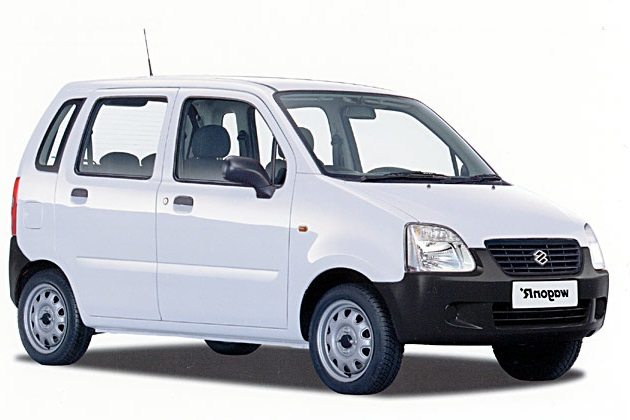 Solfilm til Suzuki R+. Færdigskåret solfilm til alle Suzuki biler.