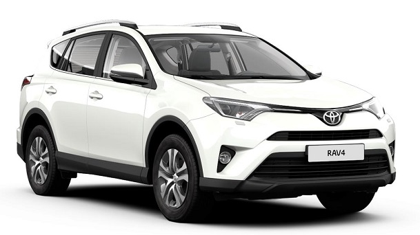 Solfilm til Toyota RAV4. Færdigskåret solfilm til alle Toyota biler.
