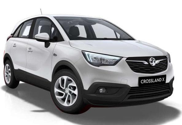Solfilm til Opel Crossland. Færdigskåret solfilm til alle Opel biler.