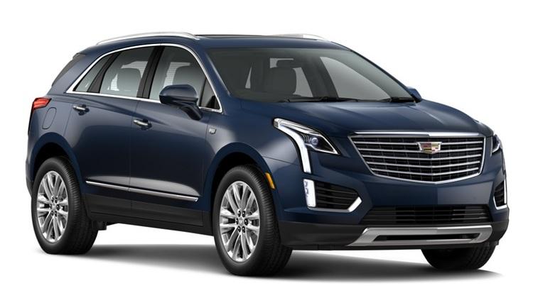 Solfilm til Cadillac XT5. Færdigskåret solfilm til alle Cadillac biler.