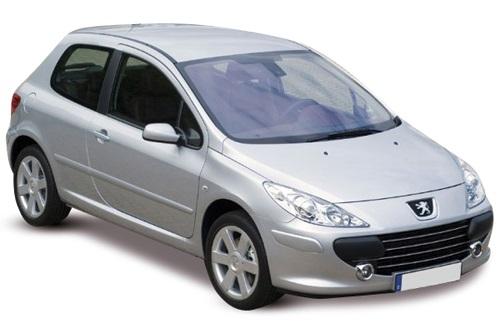 Solfilm til Peugeot 307 3-d. Færdigskåret solfilm til alle Peugeot biler.