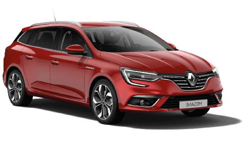 Solfilm til Renault Megane Sport Tourer. Færdigskåret solfilm til alle Renault biler.