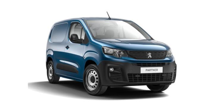 Solfilm til Peugeot Partner Van.