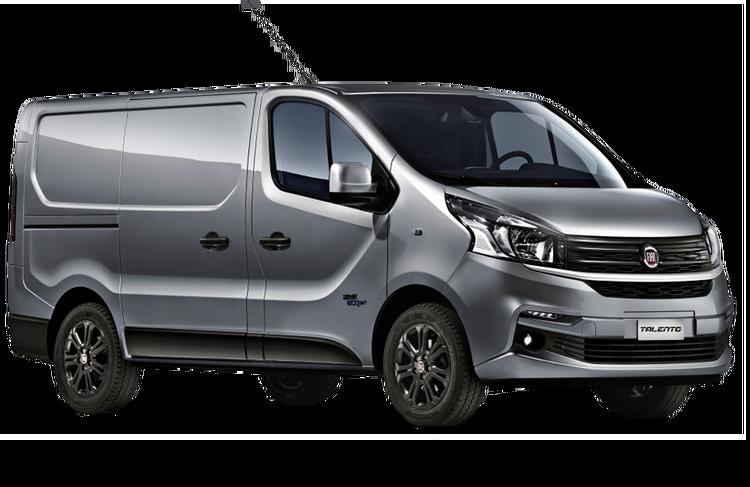 Solfilm til Fiat Talento Van.