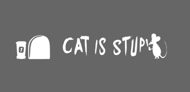 Cat is stupid
