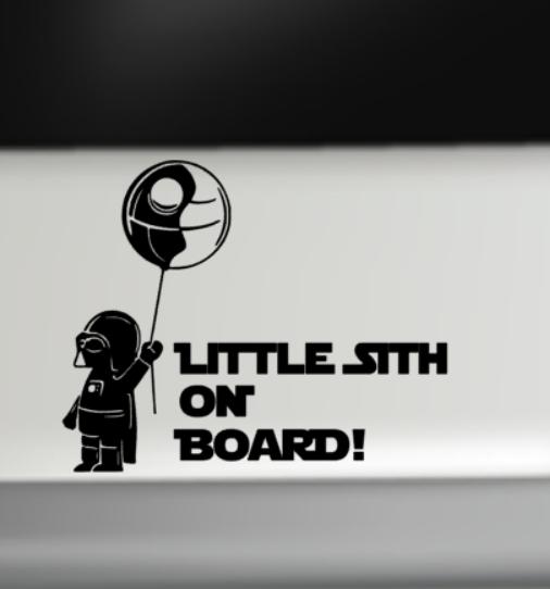 Little sith on board
