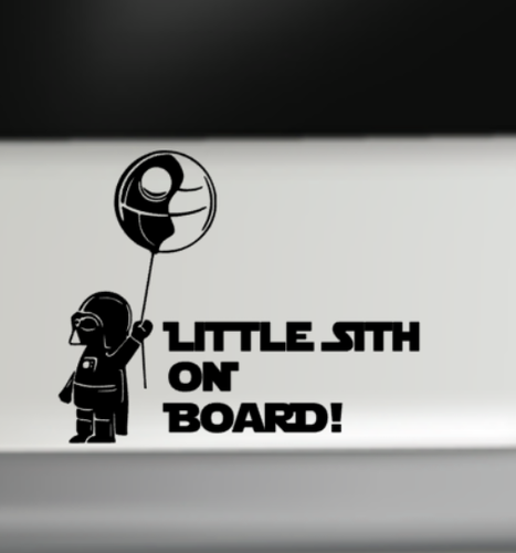 Little sith on board