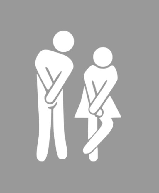 Till toalettdörren