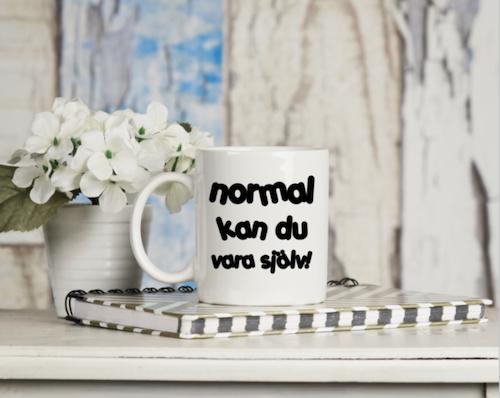 "Dekor mugg ""normal"""