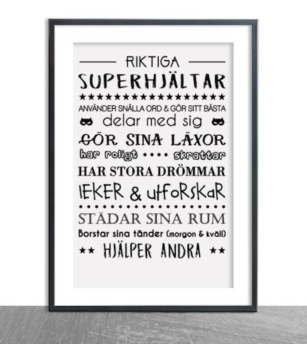 Riktiga superhjältar