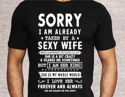 SORRY I AM ALREADY TAKEN (flera val)