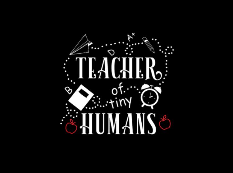 t-shirt till en uppskattad lärare