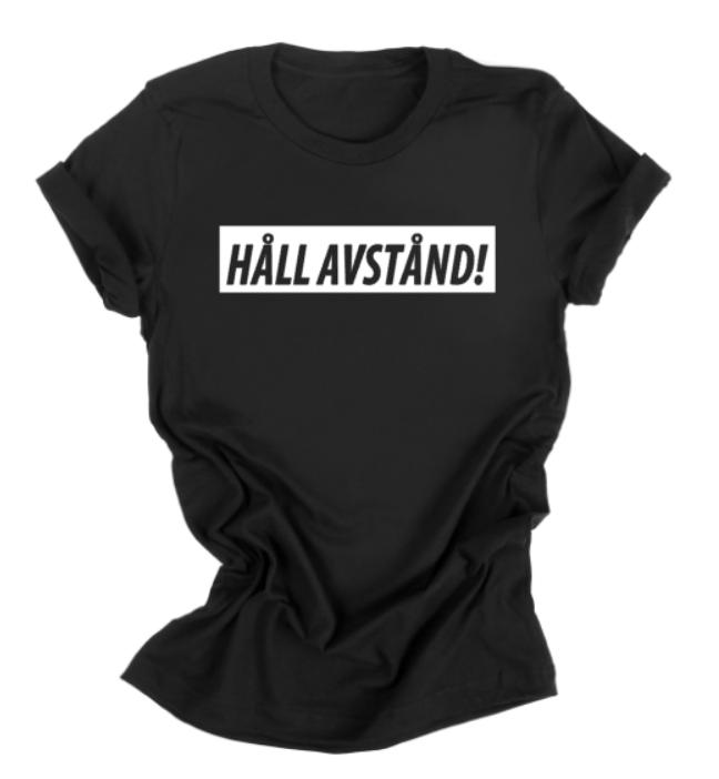 HÅLL AVSTÅND t-shirt (dam)