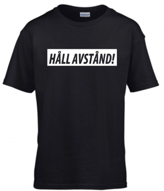 HÅLL AVSTÅND t-shirt herr