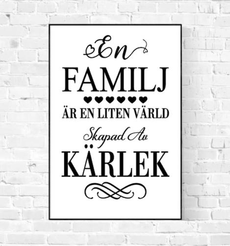 En Familj Skapad Av Kärlek