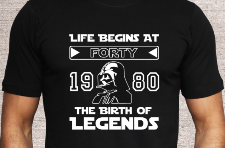 LIFE BEGINS - Star Wars
