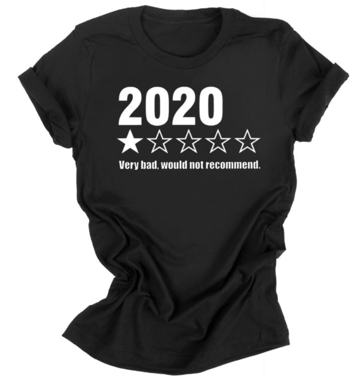 2020 inte att rekommendera t-shirt