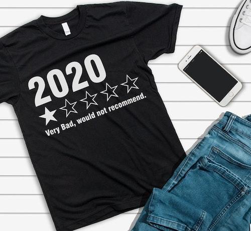 2020 inte att rekommendera t-shirt (herr)