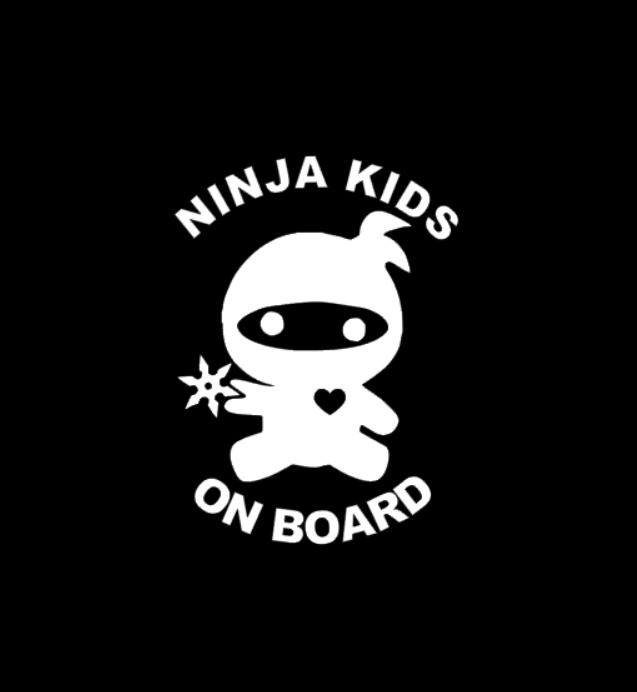NINJA KIDS ON BOARD