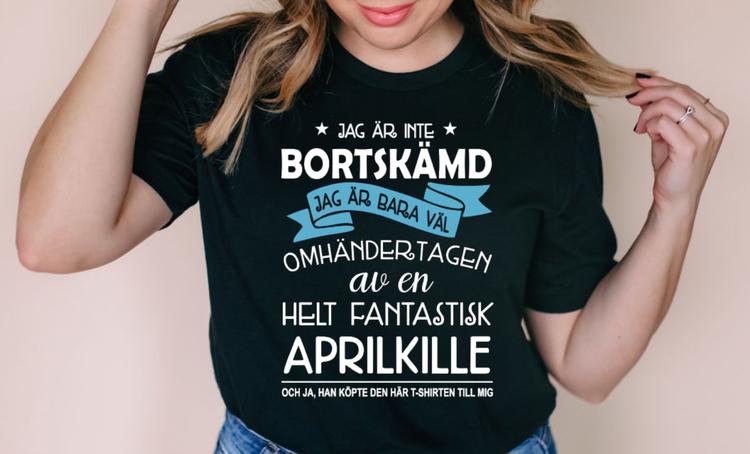 JAG ÄR INTE BORTSKÄMD