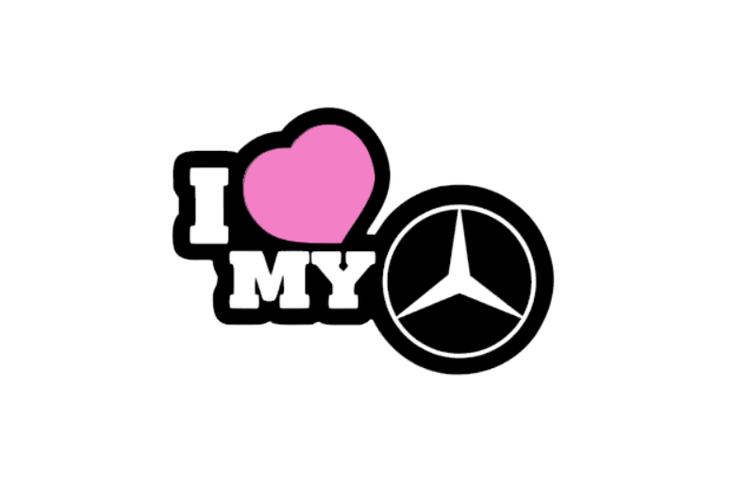 I LOVE MY (olika bilmärken)