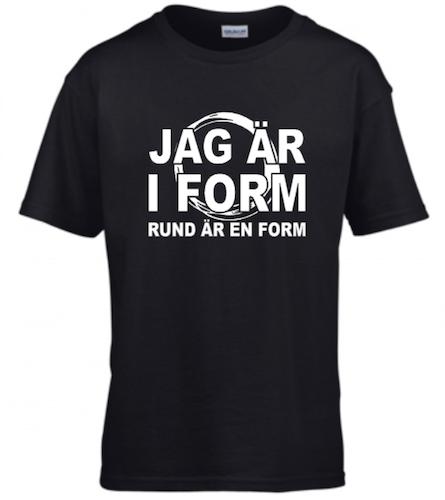JAG ÄR I FORM