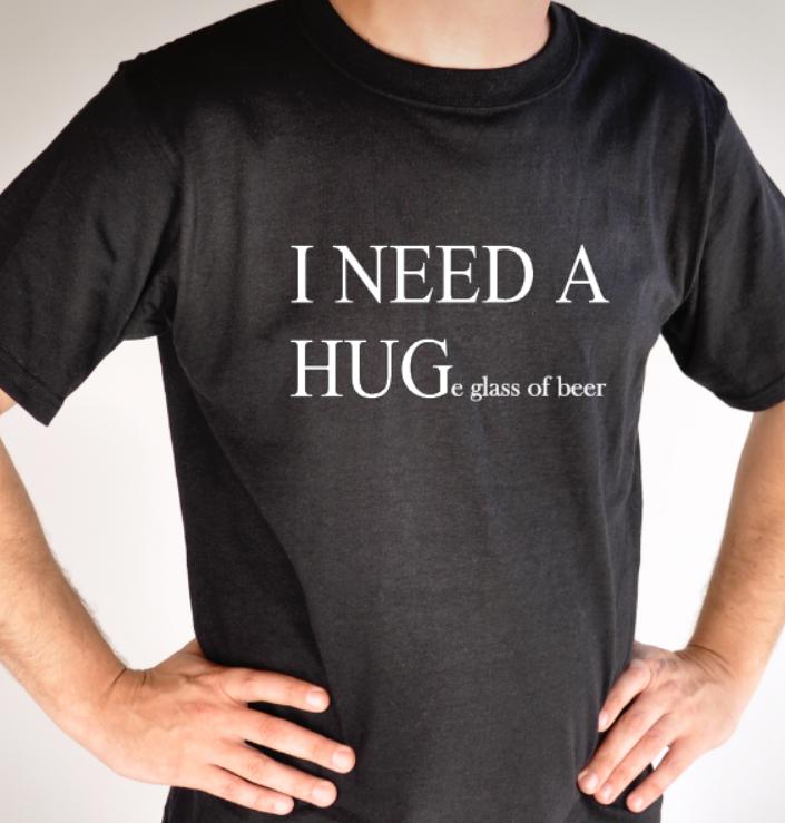 I NEED A HUG(e glass of...)