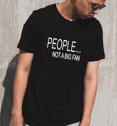 PEOPLE - NOT A BIG FAN