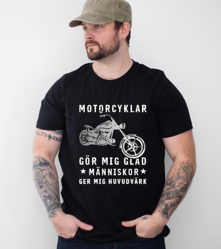 motorcyklar gör mig glad (eget val)