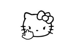 Kitty f*ck off
