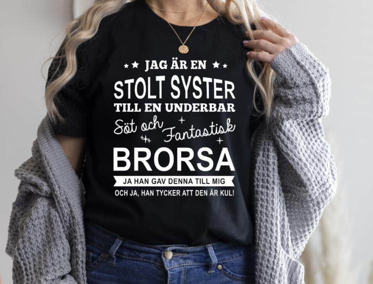 STOLT SYSTER- FANTASTISK BRORSA