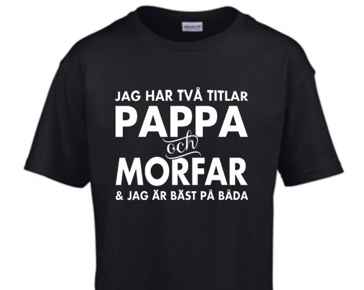 JAG HAR TVÅ TITLAR - PAPPA & MORFAR/FARFAR
