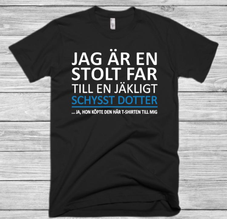JAG ÄR EN STOLT FAR TILL