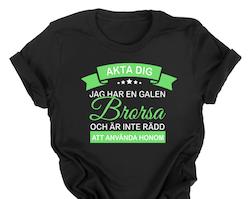 JAG HAR EN GALEN BRORSA/SYSTER -vuxen-