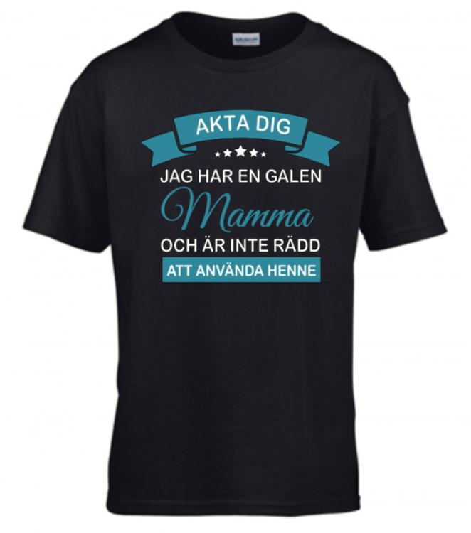JAG HAR EN GALEN SYSTER/MAMMA -vuxen-