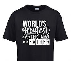 WORLD'S GREATEST FARTER...