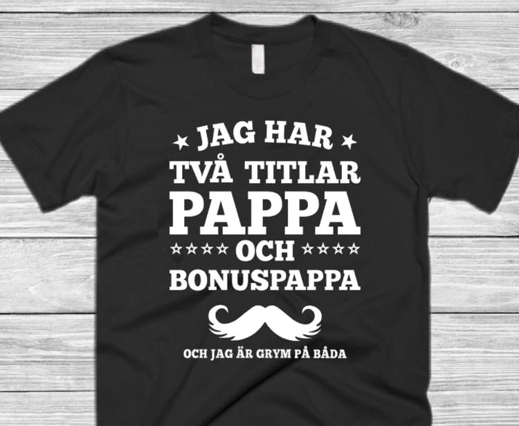 EN GRYM PAPPA/BONUSPAPPA