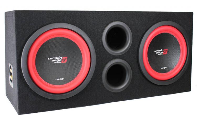 Baspaket Cerwin-Vega 2x12/ Xcelsus Audio - VW Touareg